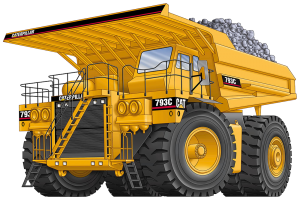 Caterpillar 793 Mining Truck Tires