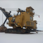 CAT 7495 120 T HF Electric Drive Rope Crowd Shovel
