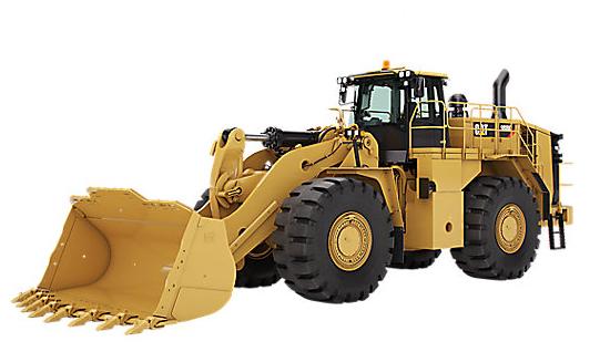 Caterpillar 988K, Tier 4, ROPS, A/C, High Lift, 6.5 Rock Bucket